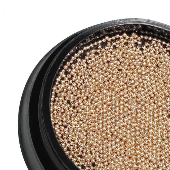 Бульонки, Розовое золото 0,6 мм