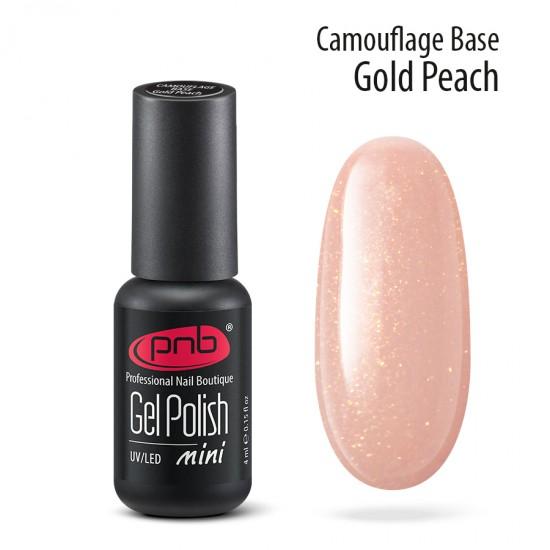 Камуфлирующая база PNB, 4 мл, золотисто-персиковая