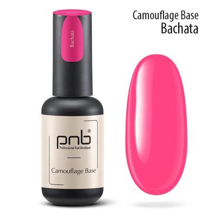 Камуфлирующая каучуковая база Bachata, pink, 8 мл