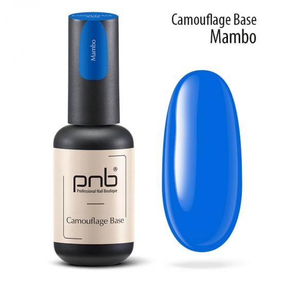 Камуфлирующая каучуковая база Mambo, blue, 8 мл