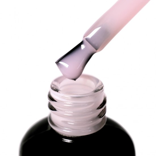 База с нейлоновыми волокнами Fiber Base PNB, молочно розовая, 17 мл