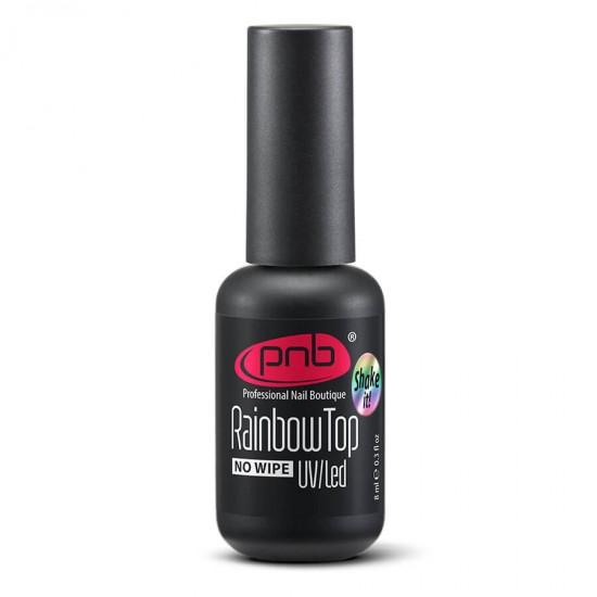 Радужный топ PNB без липкого слоя, 8 мл / Rainbow Top No wipe