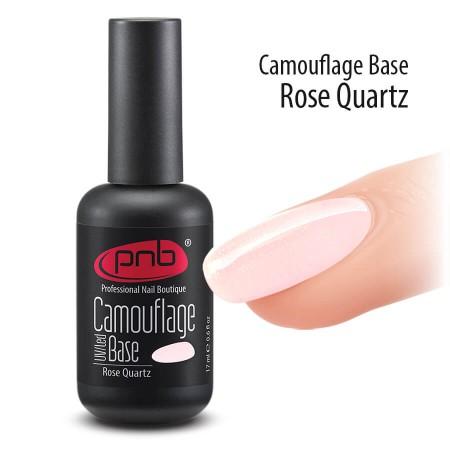 Камуфлирующая база PNB, 17 мл, розовый кварц