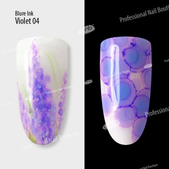Акварельные капли чернила Blur 04 фиолетовые 4 мл
