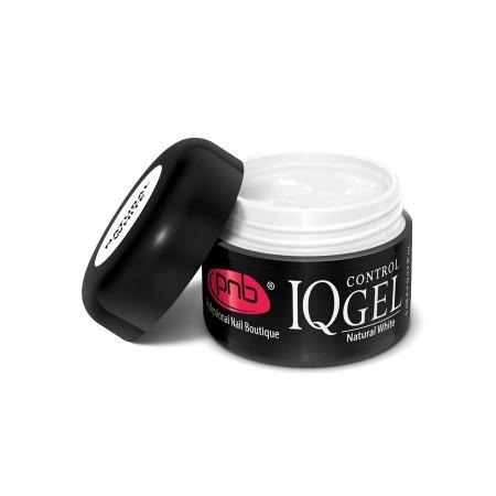IQ Control Gel Natural White / Непрозрачный, натуральный белый гель PNB нового поколения 5 ml