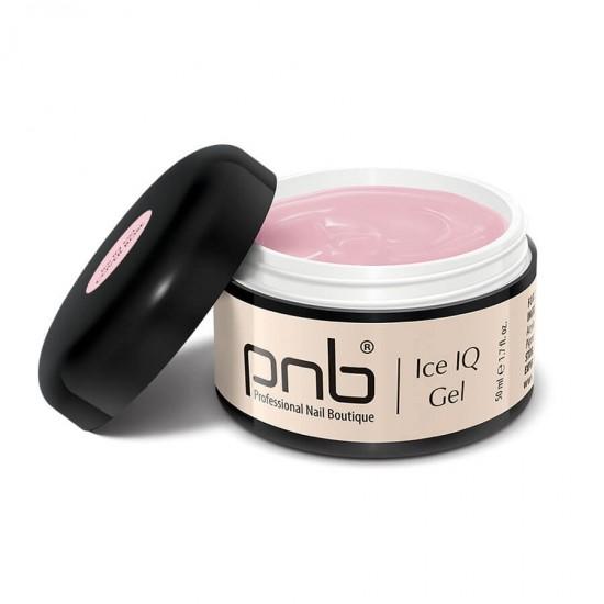 Низкотемпературный дымчато-розовый гель / UV/LED Ice IQ Gel, Cover Rose PNB, 50 ml