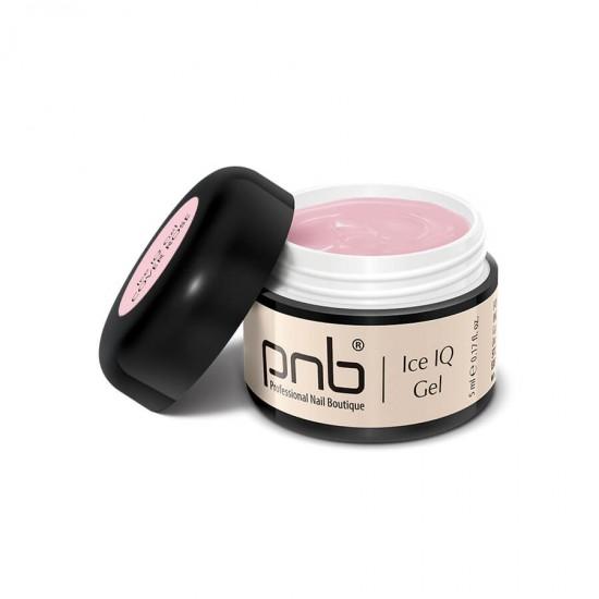 Низкотемпературный дымчато-розовый гель / UV/LED Ice IQ Gel, Cover Rose PNB, 5 ml