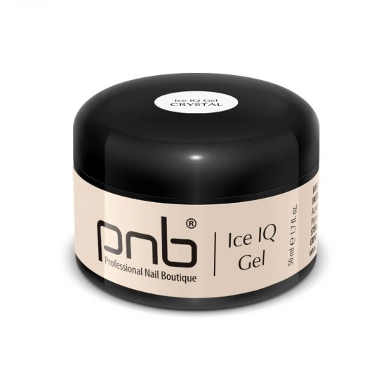 Низкотемпературный прозрачный гель / UV/LED Ice IQ Gel, Crystal PNB, 50 ml