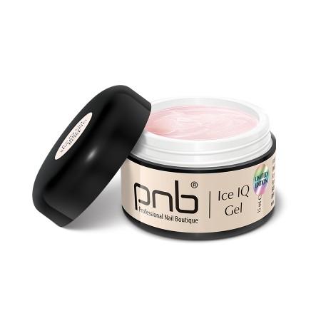Низкотемпературный молочно-розовый гель / UV/LED Ice IQ Gel, Sparkling Rose PNB, 15 ml