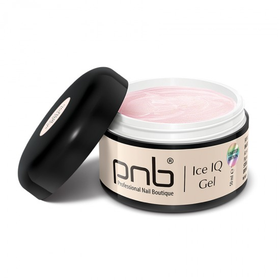 Низкотемпературный молочно-розовый гель / UV/LED Ice IQ Gel,Sparkling Rose PNB, 50 ml