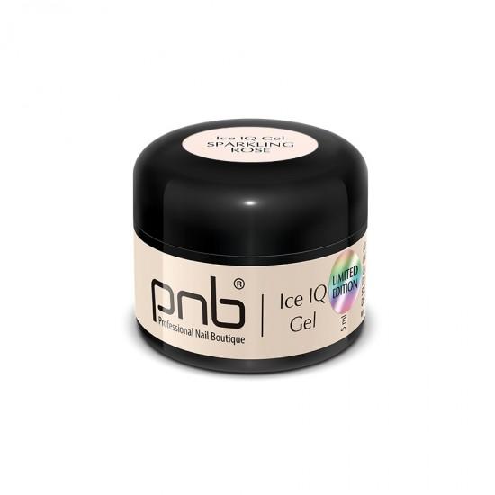 Низкотемпературный молочно-розовый гель / UV/LED Ice IQ Gel,Sparkling Rose PNB, 5 ml