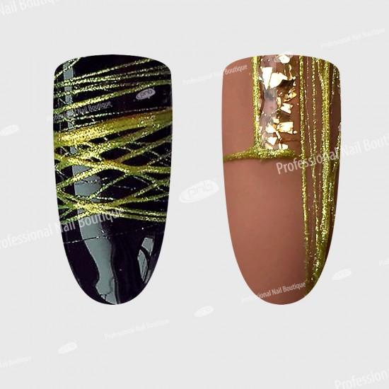 Гель-паутинка золотой PNB / UV/LED Web Gel Gold