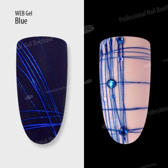 Гель паутинка синий PNB / UV/LED WebGel Blue