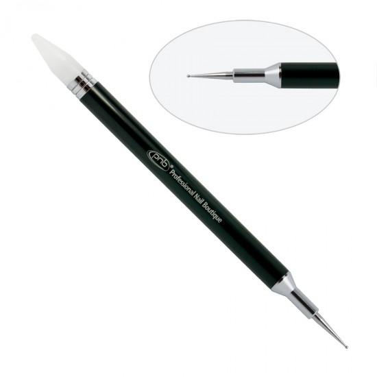 Дотс двусторонний  / карандаш для страз 2 в 1 PNB