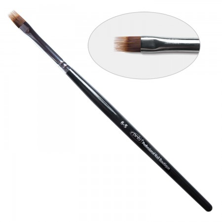 6D. Кисть для дизайна омбре  6-s PNB, нейлон / Nail Art Brush fork 6-s, nylon