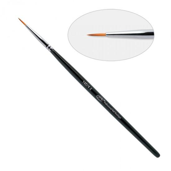 14 D. Кисть для дизайна круглая 14D/4-S ПНБ, нейлон / Nail Art Brush round 4-S PNB, nylon