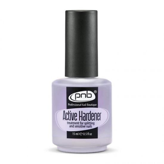 Средство для  укрепления ломких и слоящихся ногтей / Active Hardener PNB, 15 ml