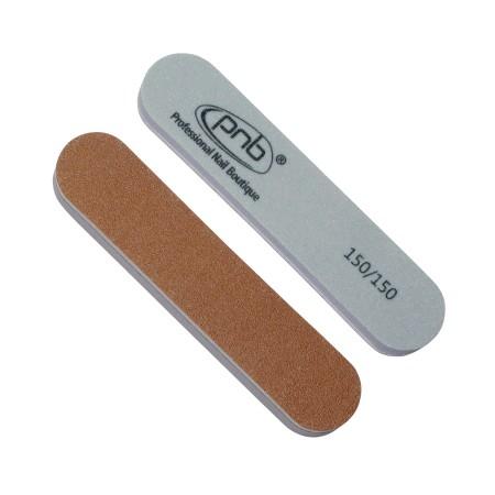 Мини пилка-баф для ногтей 150/150 Gold Brown/Grey